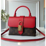 One Handle Flap Messenger Bag M43124 Red 2018