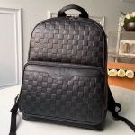 Men's Campus Damier Checkerboard Leather Backpack N40094 2019 Collection