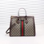 Ophidia GG medium top handle bag 33cm #98449