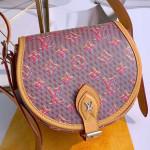 Tambourin Monogram Pop Round Shoulder Bag M55460 Red 2019 Collection