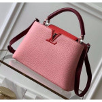 Taurillon Leather Capucines Bb/pm Top Handle Bag M536964 Pink/red Collection