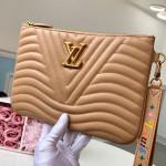 New Wave Zip Pochette Pouch M68478 Beige 2019 Collection