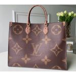 Monogram Giant Canvas Onthego Tote Bag M44576 2019