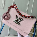 Twist Mm Bag In Epi Leather M53922 Pink 2020  Collection