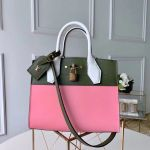 City Steamer Pm Bag In Smooth Calfskin M42188 Pink/green Collection