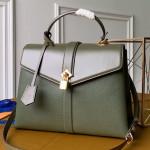 Padlock Rose Des Vents Mm Top Handle Bag M53819 Khaki Green 2019 Collection