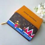 Monogram Canvas Skiing Bears Zippy Wallet M63379 Xmas 2018 Collection