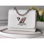 Epi Leather Twist Mini Bag M56118 White 2020