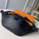 Men's Discovery Monogram Empreinte Leather Bumbag/belt Bag M44388 Black 2019 Collection