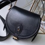 Tambourin Leather Round Shoulder Bag M55505 Black 2019 Collection