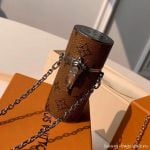 Monogram Canvas Lipstick Case Mp2407 Silver Chain  Collection