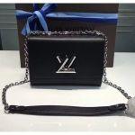 Epi Leather Twist Mm Shoulder Bag M50282 Black/silver 2020 Collection