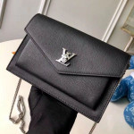 Pochette Mylockme Envelope Chain Shoulder Bag M63471 Black 2019 Collection