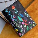 Men's Flora Print Monogram Canvas Passport Cover M64411 2019 Collection