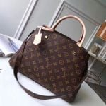 Montaigne Mm Monogram Canvas Top Handle Bag M41056 2019 Collection