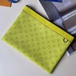 Discovery Pochette Monogram Canvas Pouch M62291 Yellow 2019 Collection