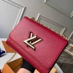 Epi Leather Twist Mm Shoulder Bag M50282 Deep Red/gold 2020 Collection