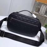 Men's Ambler Damier Infini Leather Belt Bag N41288 2019 Collection
