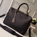 Men's Armand Briefcase Mm Top Handle Bag M55227 Black 2019 Collection