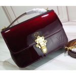 Smooth Vernis Patent Leather Cherrywood Bb Bag Amarante 2019
