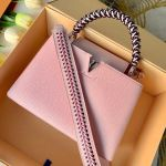 Capucines Pm With Braided Handle M55083 Pink 2019 Collection