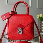 Cube Néo Square Bag Top Handle Bag M55475 Red 2019 Collection