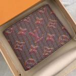 Lv Monogram Pop Slender Wallet M62294 Red 2019 Collection