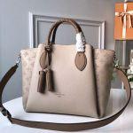 Haumea Mahina Perforated Leather Top Handle Bag M55031 Grey 2019 Collection