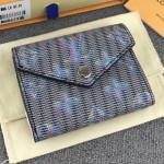Monogram Lv Pop Zoe Flap Wallet M68673 Blue 2019 Collection
