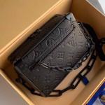 Men's Mini Soft Trunk Monogram Embossed Leather Box Shoulder Bag M44480 2019 Collection