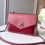 Mylockme Bb Schoolbag Shaped Shoulder Bag M51492 Pink/red 2020 Collection