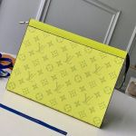 Monogram Pochette Voyage Mm Pouch M61692 Yellow 2019 Collection