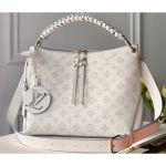 Braided Handle Mahina Leather Beaubourg Hobo Mm Bag M56201 White 2020