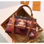 Crown Frame Top Handle Bag M43946 Monogram Canvas 2018