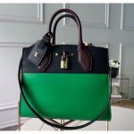 City Steamer Pm Bag In Smooth Calfskin M42188 Green/black Collection
