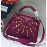 Capucines Bb Sun Sculpture Top Handle Bag M48865 Purple 2018