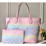 Lv Escale Neverfull Mm Tote Bag M45270 Pastel Pink 2020