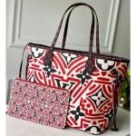 Print Neverfull Mm Tote Bag Red Runway 2020
