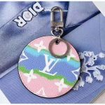 Lv Escale Key Holder And Bag Charm M69272 Pink 2020 Collection