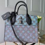 Monogram Pop City Steamer Pm Top Handle Bag M55469 Blue 2019 Collection