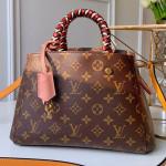 Monogram Canvas Montaigne Bb Braided Top Handle Bag M44671 2019 Collection