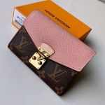 Pallas Compact Wallet M67479 Pink Collection