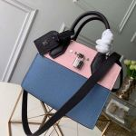 City Steamer Mini Bag In Grainy Calfskin M53804 Blue/pink/black Collection