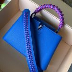 Capucines Bb With Braided Handle M55236 Royal Blue 2019 Collection