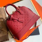 Sac Neo Alma Pm Monogram Empreinte Leather Bag M44832 Red 2019 Collection