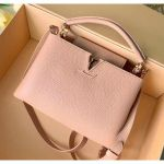 Taurillon Leather Capucines Bb Top Handle Bag M94586 Light Pink 2020 Collection