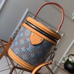 Cannes Monogram Pop Bucket Top Handle Bag M55457 Blue 2019 Collection