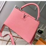 Taurillon Leather Capucines Pm Top Handle Bag M42259 Pink 2020 Collection