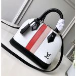 Alma Bb Handbag M51963 White Epi Leather 2018