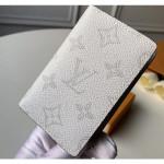 Monogram Antarctica Canvas Pocket Organiser Wallet M30315 White 2019